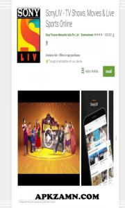 SonyLIV MOD APK Download For Android (Premium Unlocked) 1