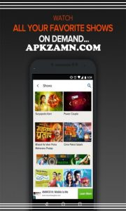 SonyLIV MOD APK Download For Android (Premium Unlocked) 3