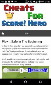 Score Hero Mod Apk For Android Unlocked Version 3
