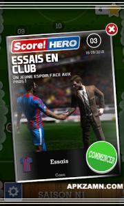 Score Hero Mod Apk For Android Unlocked Version 4