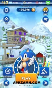 Sonic Dash MOD Apk For Android Free Download (Unlimited Money) 4