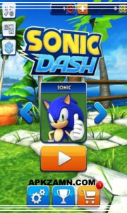 Sonic Dash MOD Apk For Android Free Download (Unlimited Money) 1