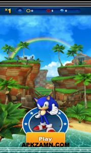 Sonic Dash MOD Apk For Android Free Download (Unlimited Money) 3